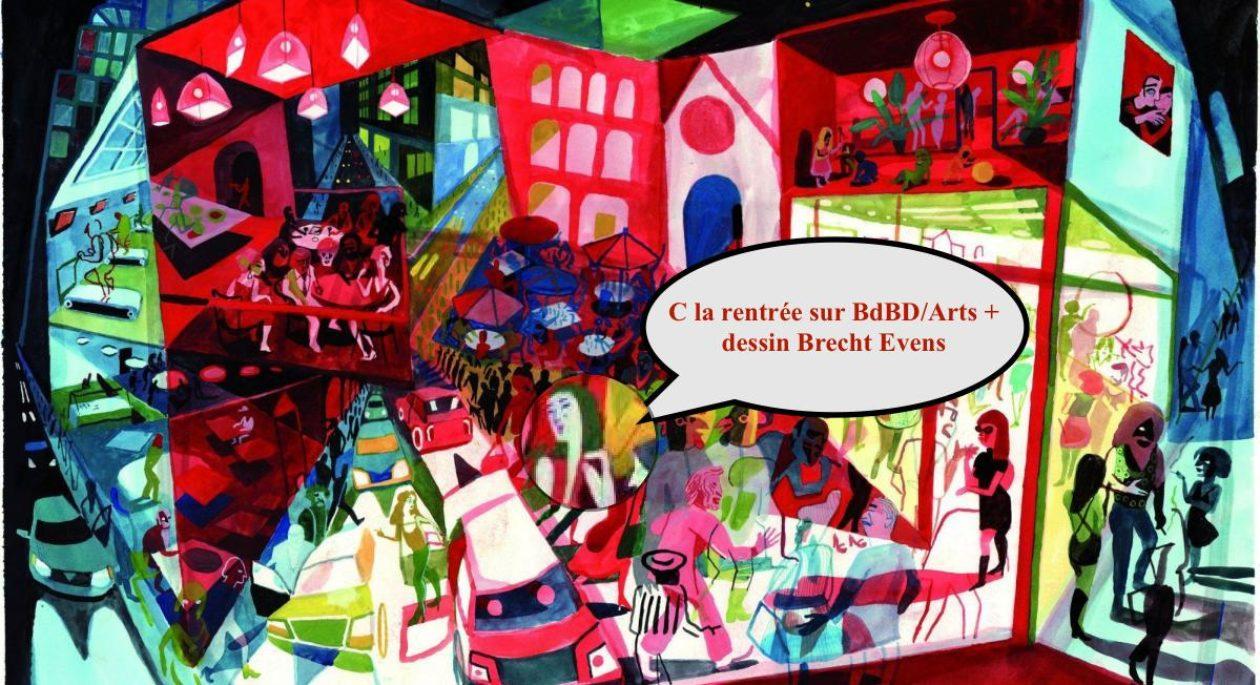 Du Boulevard de la BD aux Arts pluriels